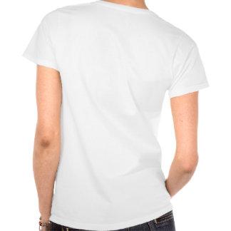 Camisa da boneca T das mulheres com poema Camiseta