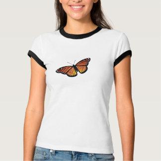 Camisa da borboleta de monarca