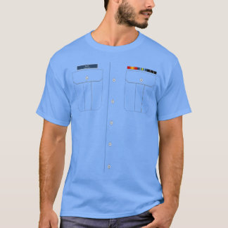 Camisa da camisa de Trop da guarda costeira