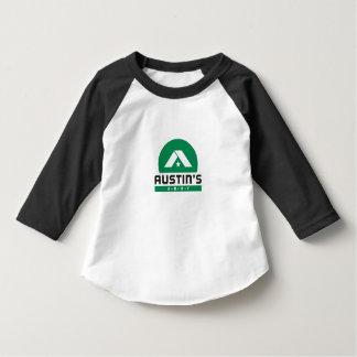 Camisa da campainha do miúdo do exército de Austin T-shirts