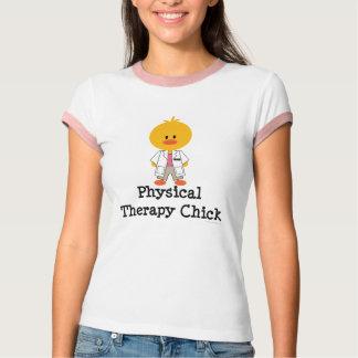 Camisa da campainha T do pintinho da fisioterapia T-shirts