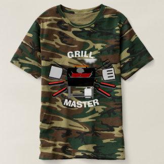 Camisa da camuflagem do mestre da grade