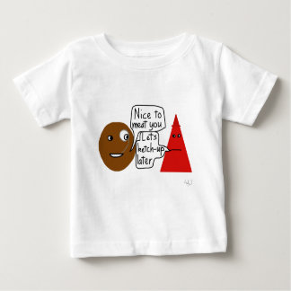 Camisa da carne e da ketchup