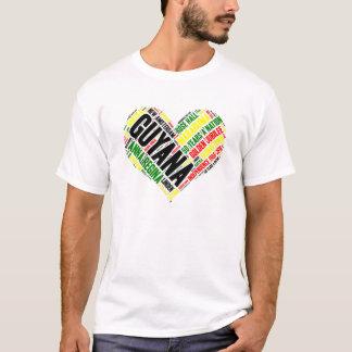 Camisa da celebração T da independência de Guyana