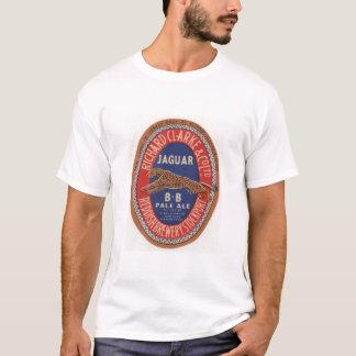 Camisa da cerveja inglesa pálida T de Jaguar