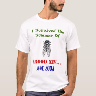 Camisa da cigarra da ninhada XIV