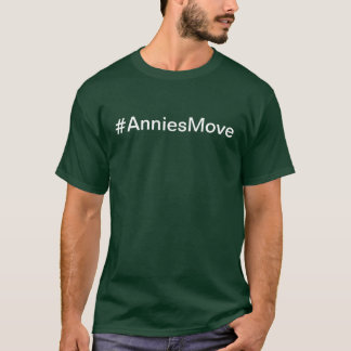 Camisa da comunidade do movimento de Annie do