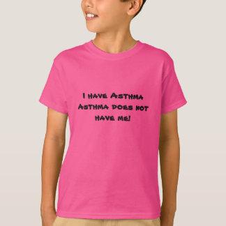 Camisa da consciência da asma da juventude