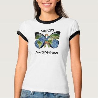 Camisa da consciência de ME/CFS com borboleta