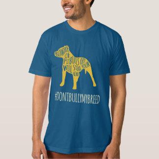 Camisa da consciência de Pitbull Tshirts