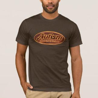 Camisa da consciência do autismo (Oval-r)