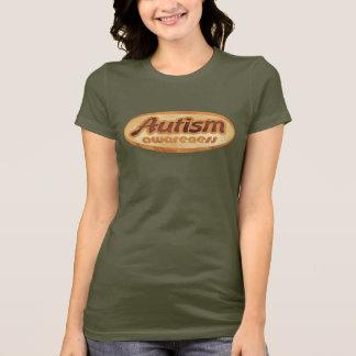 Camisa da consciência do autismo (Oval-R1)