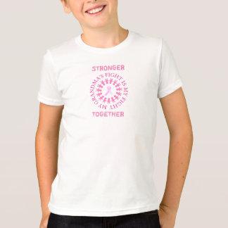 Camisa da consciência do cancro da mama da luta da