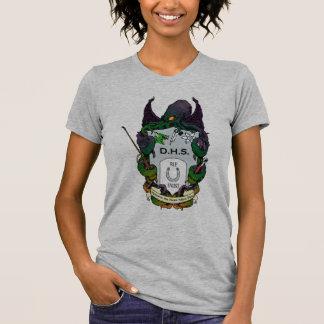 Camisa da cor das senhoras do sistema de camisetas