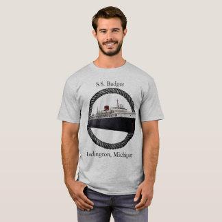 Camisa da corda do texugo dos SS