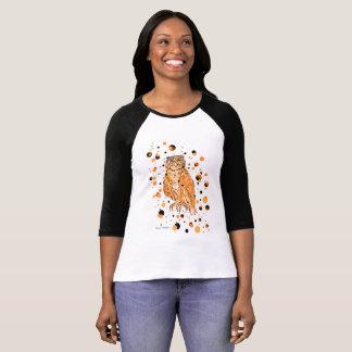 Camisa da coruja de LW o Dia das Bruxas