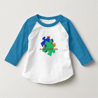 Camisa da criança da consciência do autismo