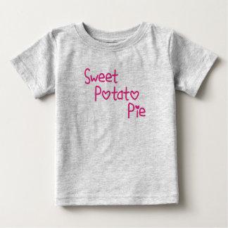 Camisa da criança da torta da batata doce