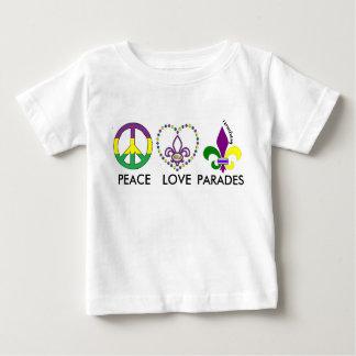 Camisa da criança das paradas do CARNAVAL do AMOR