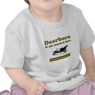 Camisa da criança de Dearborn IASH Tshirts