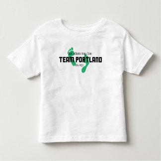Camisa da criança de Portland da equipe
