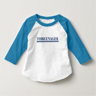 Camisa da criança de Threenager