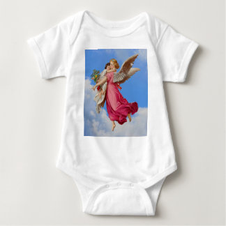 Camisa da criança do anjo-da-guarda e da criança tshirts