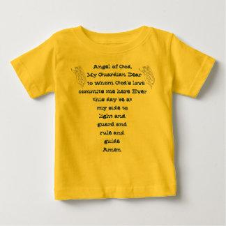 Camisa da criança do anjo-da-guarda t-shirt