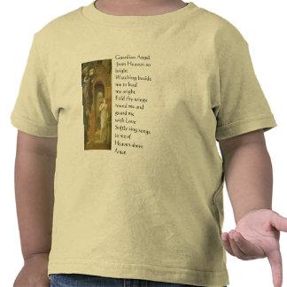 Camisa da criança do anjo-da-guarda tshirts