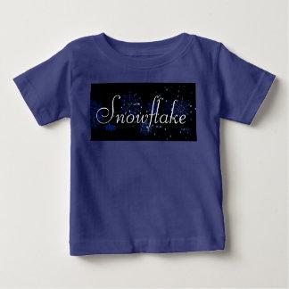 Camisa da criança do floco de neve