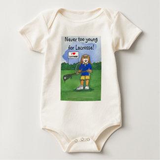 Camisa da criança do Lacrosse