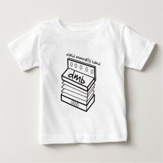 Camisa da criança do logotipo do acordeão da banda