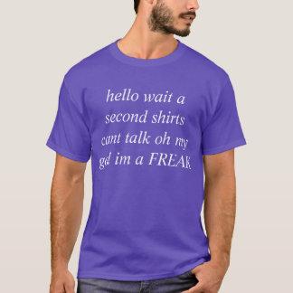 camisa da crise de identidade