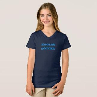 Camisa da Curto-Luva da menina
