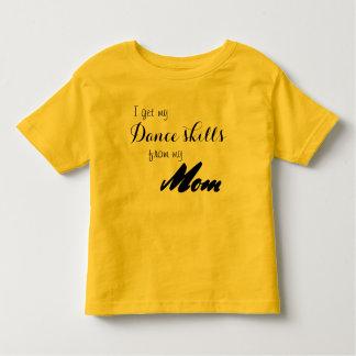 Camisa da dança das habilidades da dança da mamã