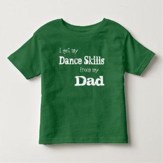 Camisa da dança das habilidades da dança do pai