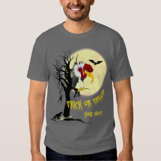 Camisa da doçura ou travessura do Buzzard Camisetas
