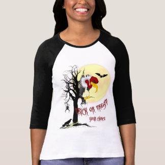 Camisa da doçura ou travessura do Buzzard Tshirt