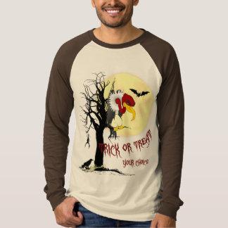 Camisa da doçura ou travessura do Buzzard T-shirts