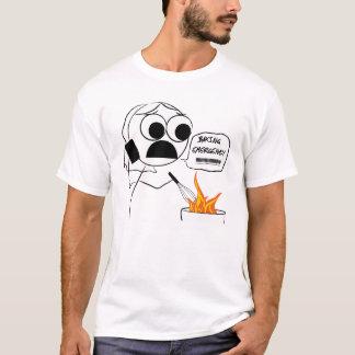 Camisa da emergência do cozimento