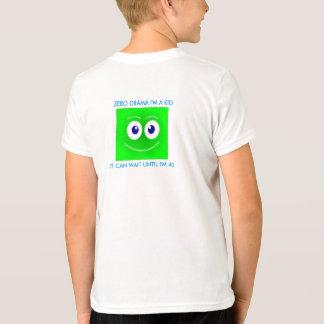 Camisa da emoção t, emoji, sorriso, drama zero