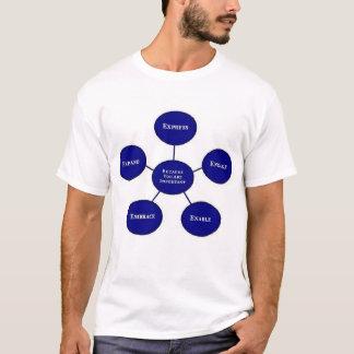 Camisa da equipe da consciência do autismo