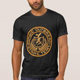 Camisa da equipe da greve da manifestação do zombi