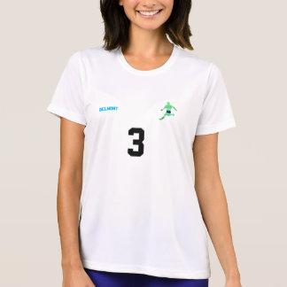 Camisa da equipe de futebol das mulheres
