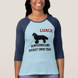 Camisa da equipe de natação do balde de Terra Nova