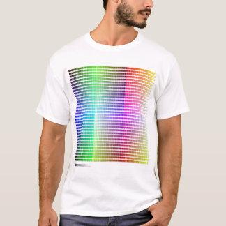 Camisa da escala de cores do Hex
