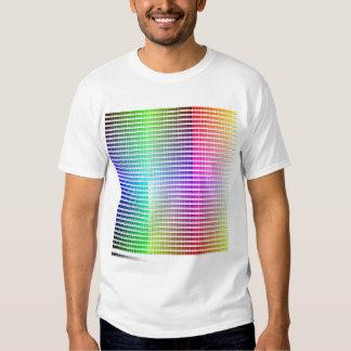 Camisa da escala de cores do Hex Tshirt