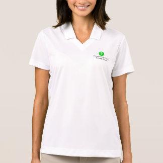 Camisa da escola das mulheres polo