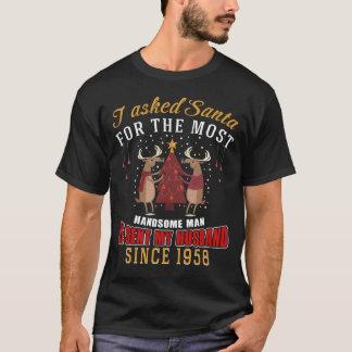 Camisa da esposa T para o aniversário desde 1958
