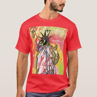 Camisa da estátua da liberdade NYC do poster das